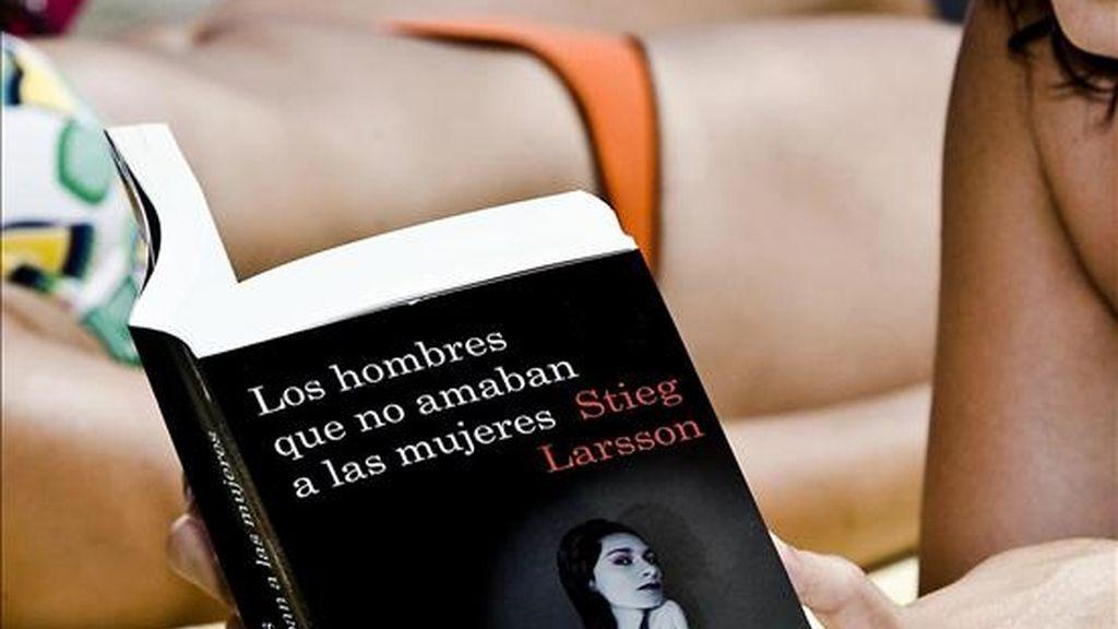 """Portada del primer volumen de la trilogía """"Millennium"""", de Stieg Larsson. EFE/Archivo"""