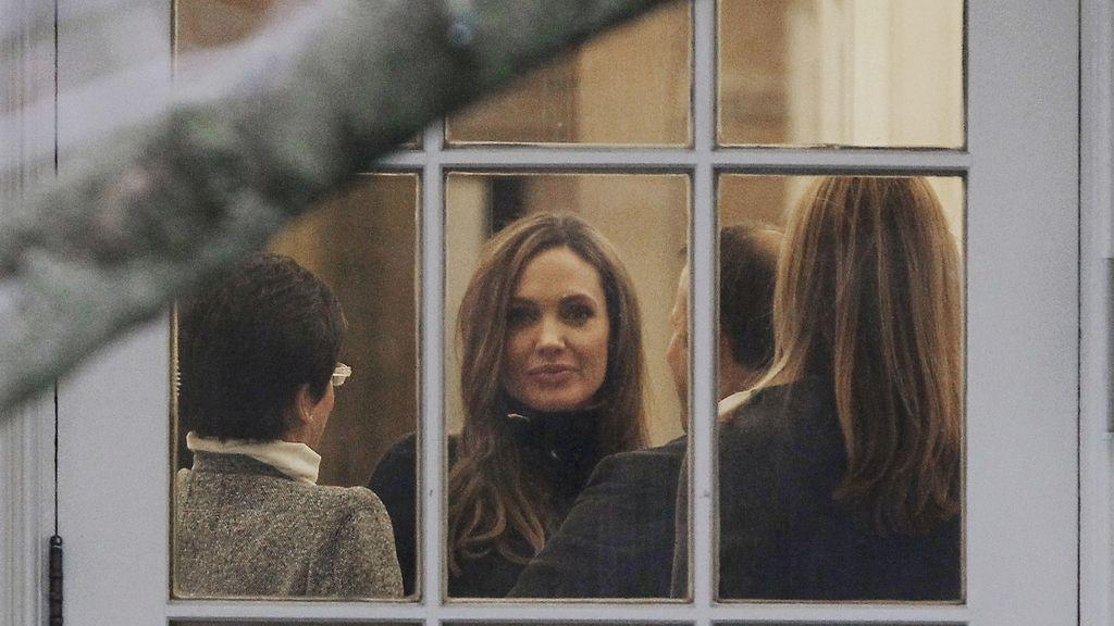 Angelina Jolie en la Casa Blanca