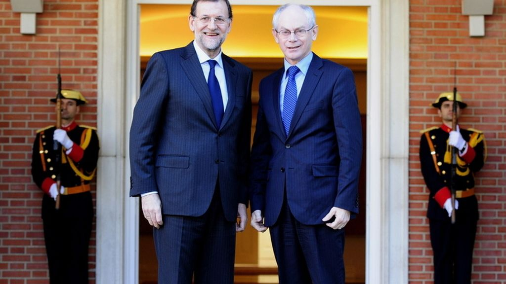 Rajoy y Van Rompuy