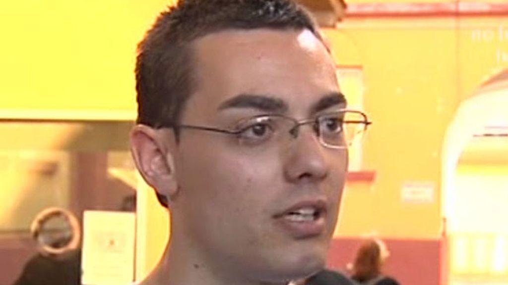 Mario González, testigo