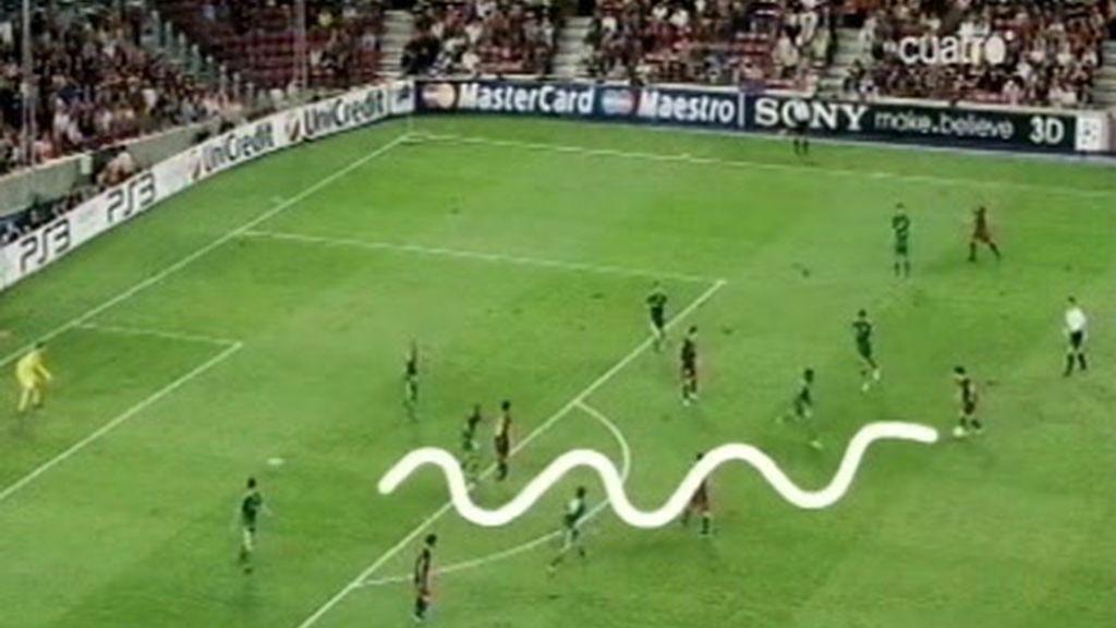 El gol del toque madridista