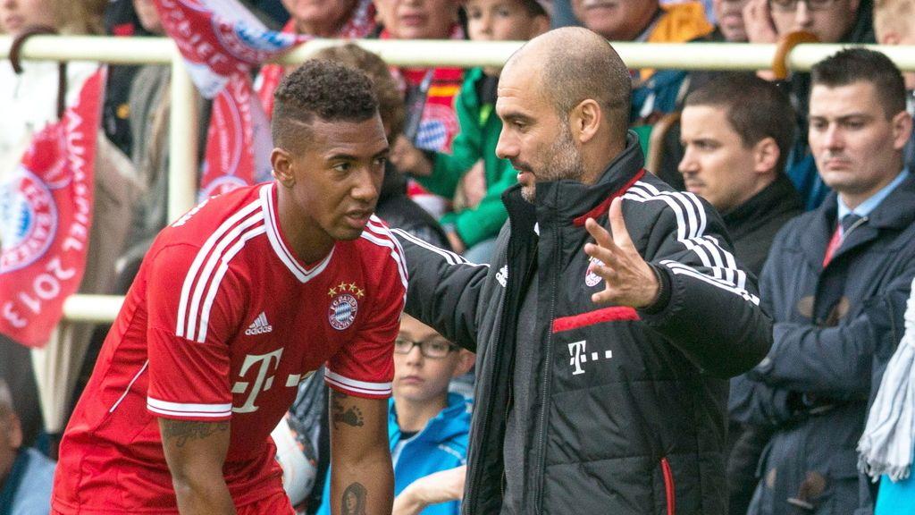Guardiola, en un partido del Bayern de Múnich. Foto: Efe
