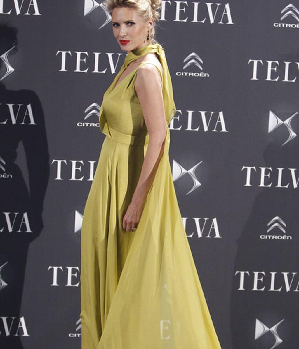 Judith Mascó, con un diseño de Roberto Torretta