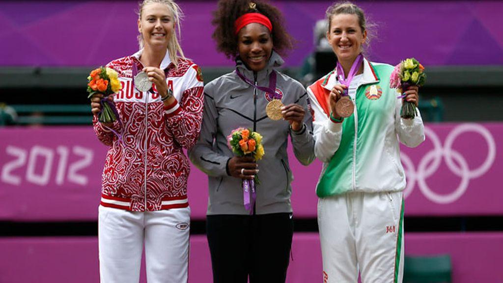 Serena Williams, medalla de Oro en Londres