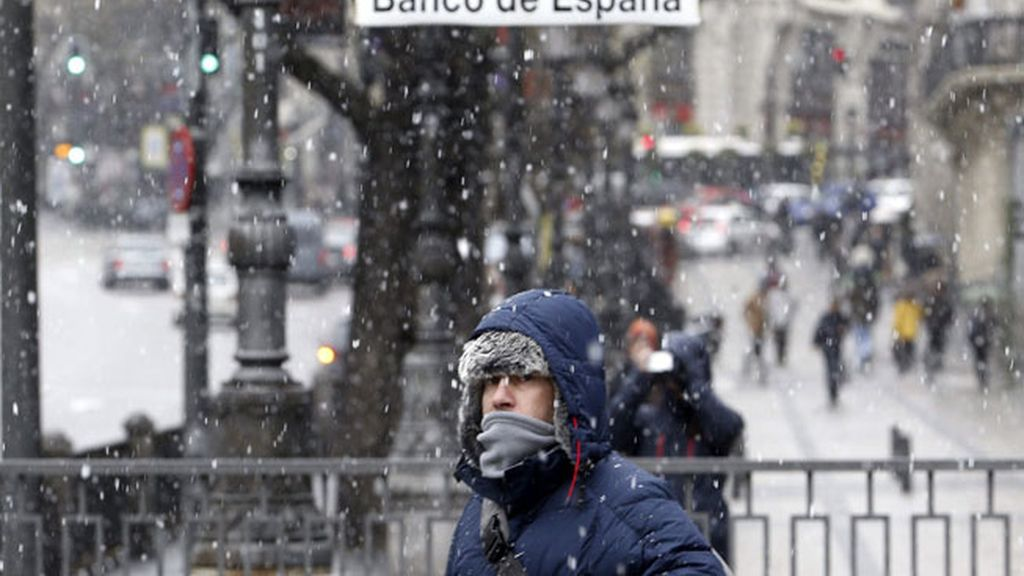 Vuelve a nevar en Madrid