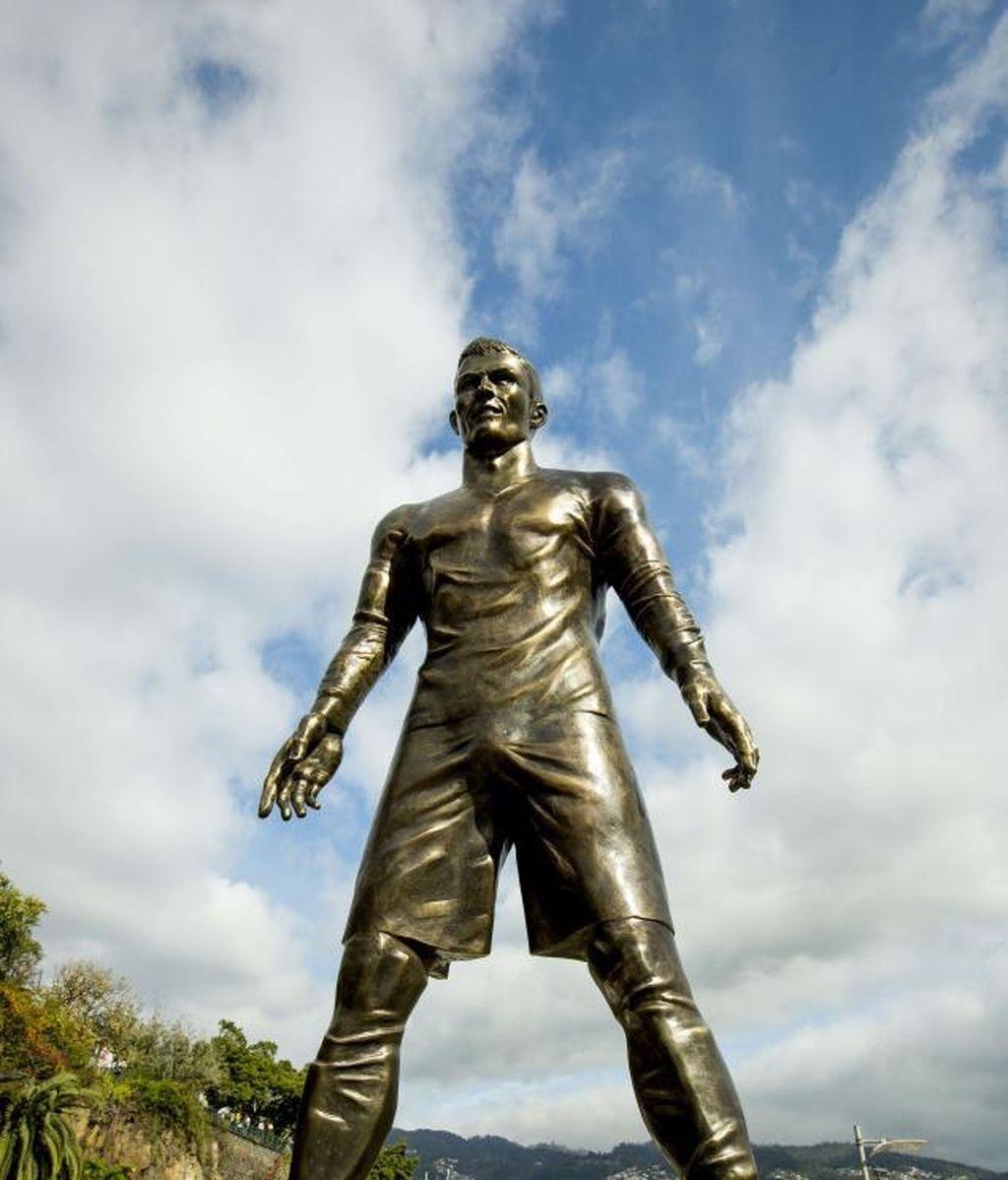Cristiano Ronaldo, Real Madrid, Estatua