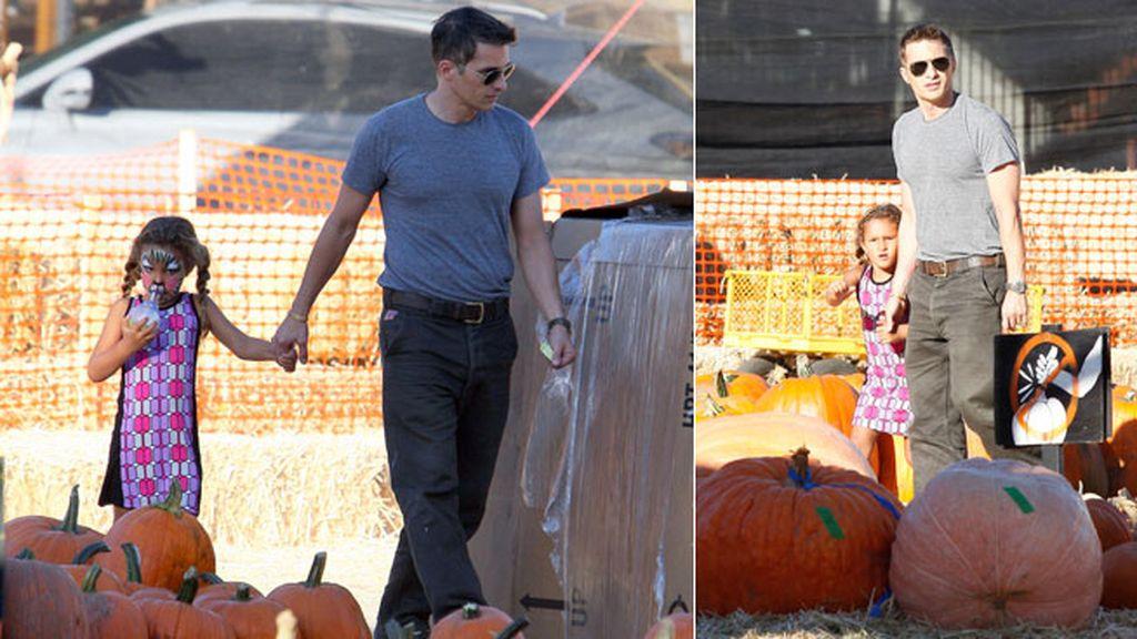 Oliver Martínez llevó a la hija de Halle Berry a elegir la suya