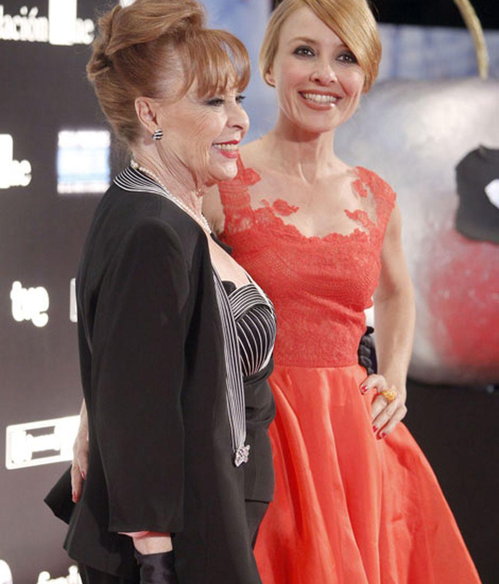 Cayetana Guillén Cuervo y su madre, Gemma Cuervo