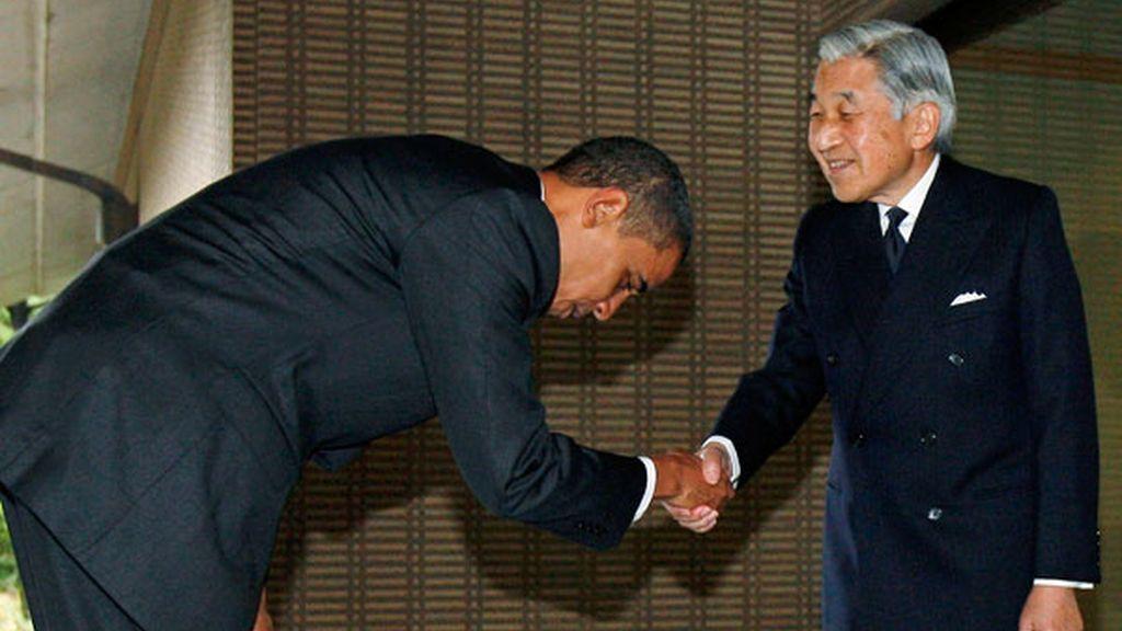 Obama y Akihito