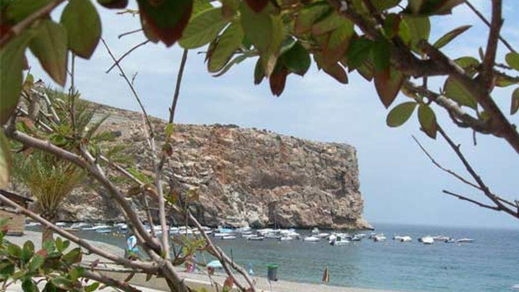 La playa de Calahonda