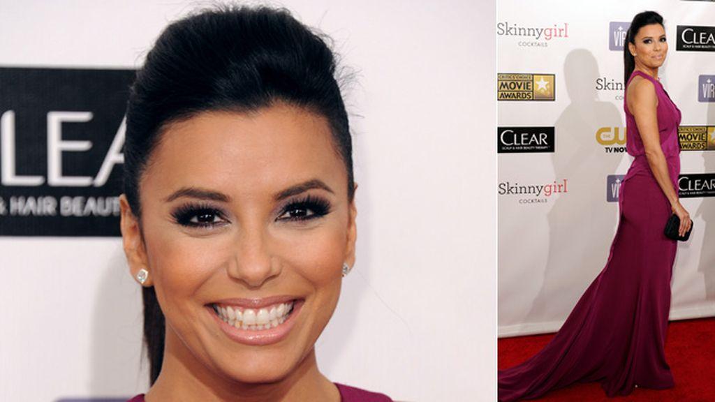Eva Longoria y su extraño parecido a Kim Kardashian