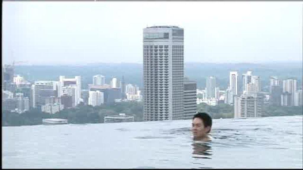 Singapur: Un baño en las alturas