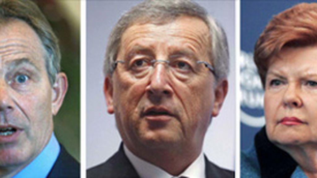 Algunos de los candidatos a presidir la UE