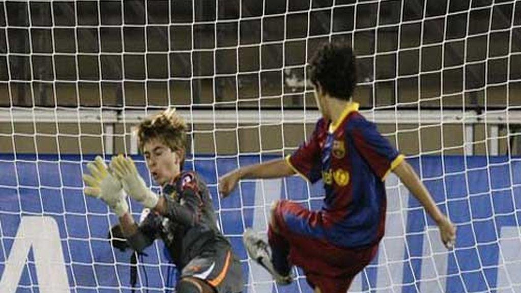 Tiro del Barça