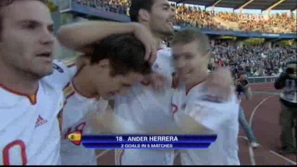 SUI 0 - 1 ESP: Ander Herrera