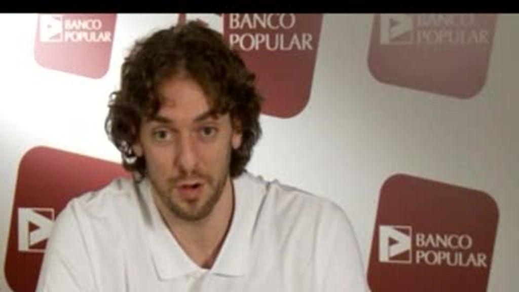 EXCLUSIVA: Entrevista a Pau Gasol (2 de 2)