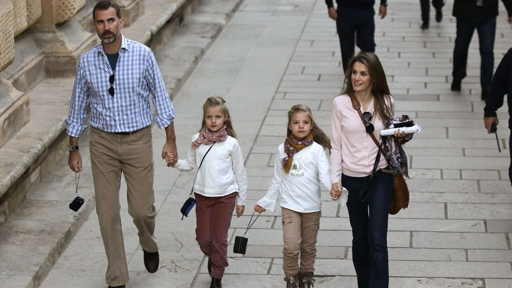 Visita privada de los Príncipes de Asturias a La Alhambra