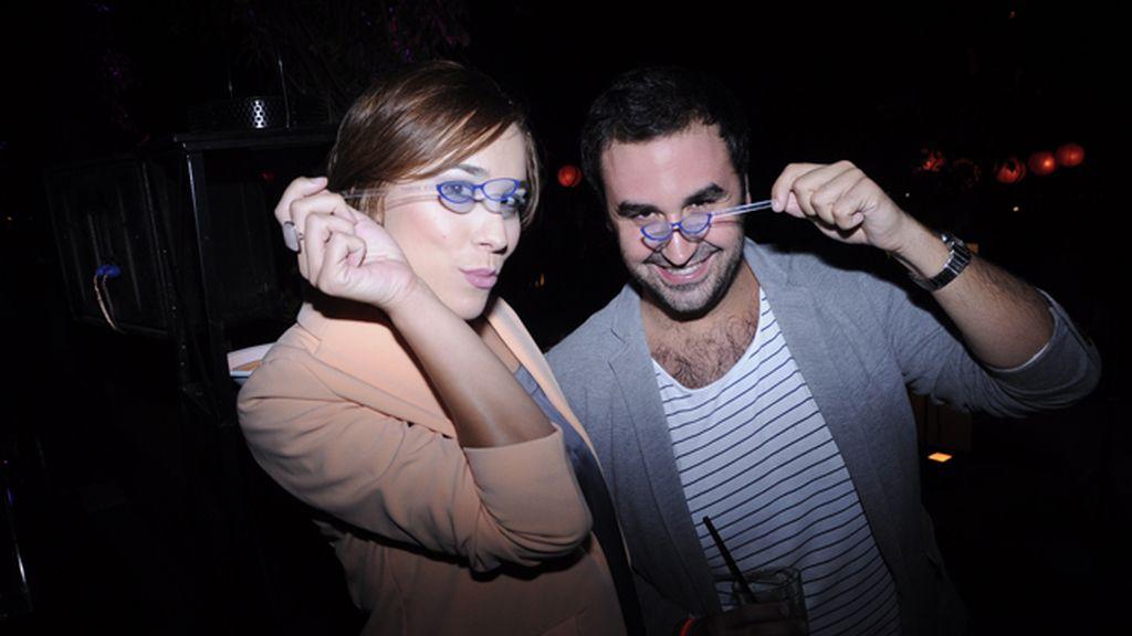 Lucía Pardavila y su marido Nacho Pérez-Castaño