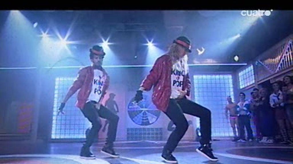 Sergio Alcover y Yure bailan para Michael Jakson