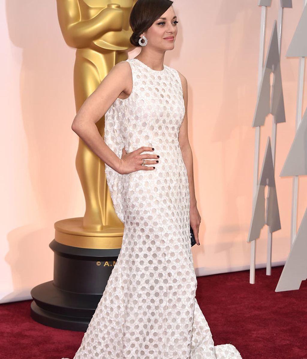 Marion Cotillard vestida de Dior Alta Costura