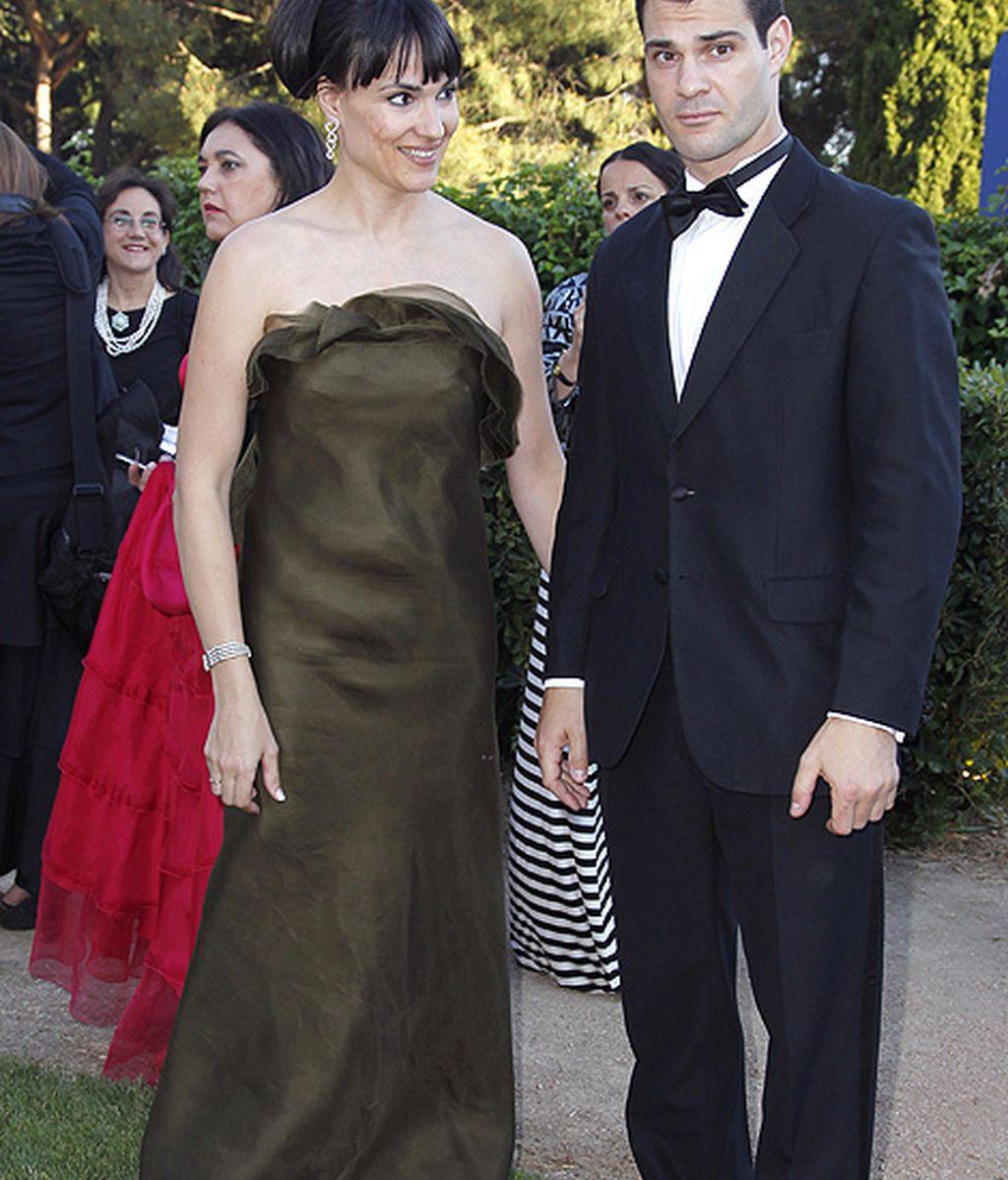 Irene Villa y su marido tampoco quisieron perderse los 'Premios Yo Dona'