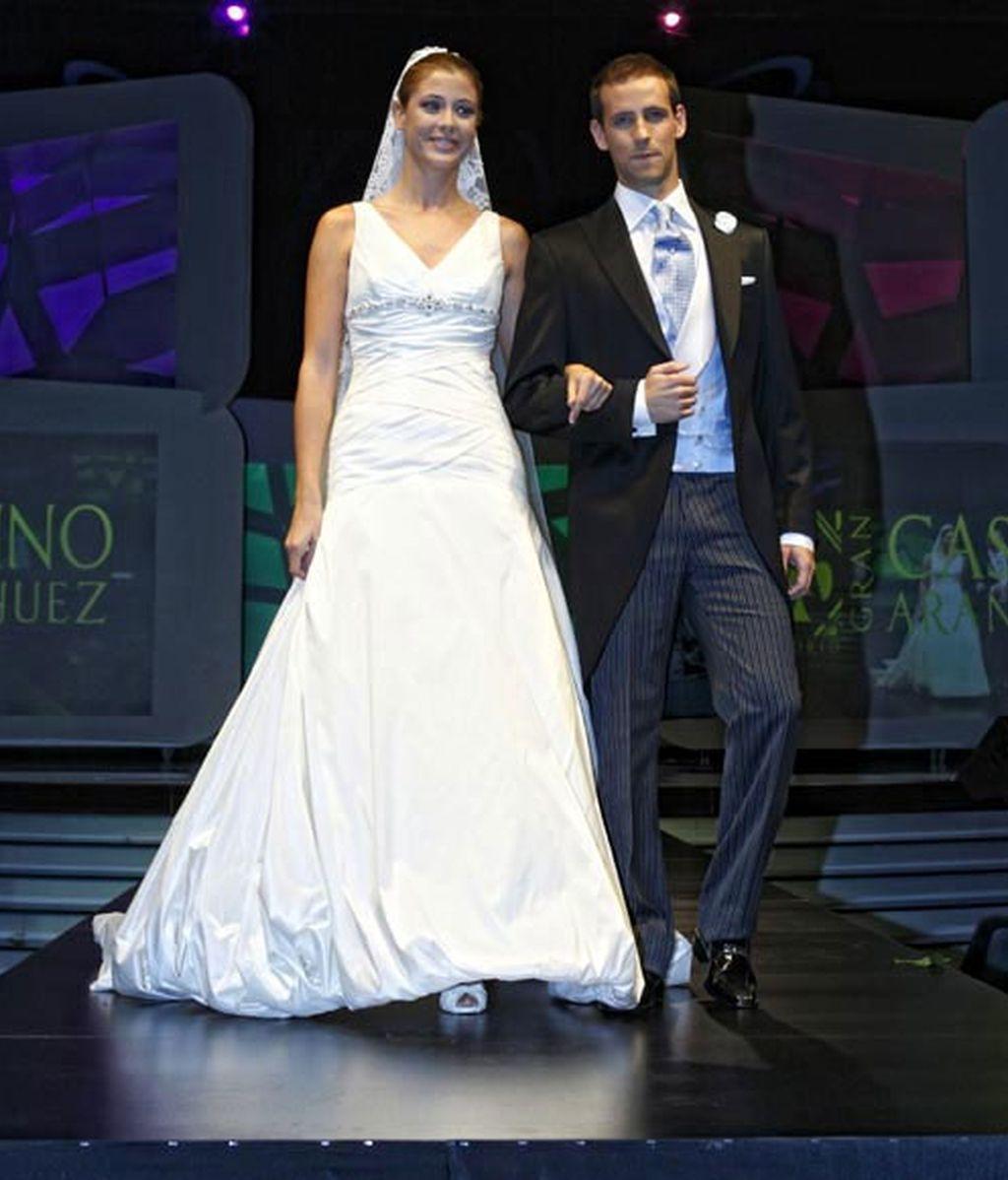 Famosas vestidas de novia y sin pasar por el altar