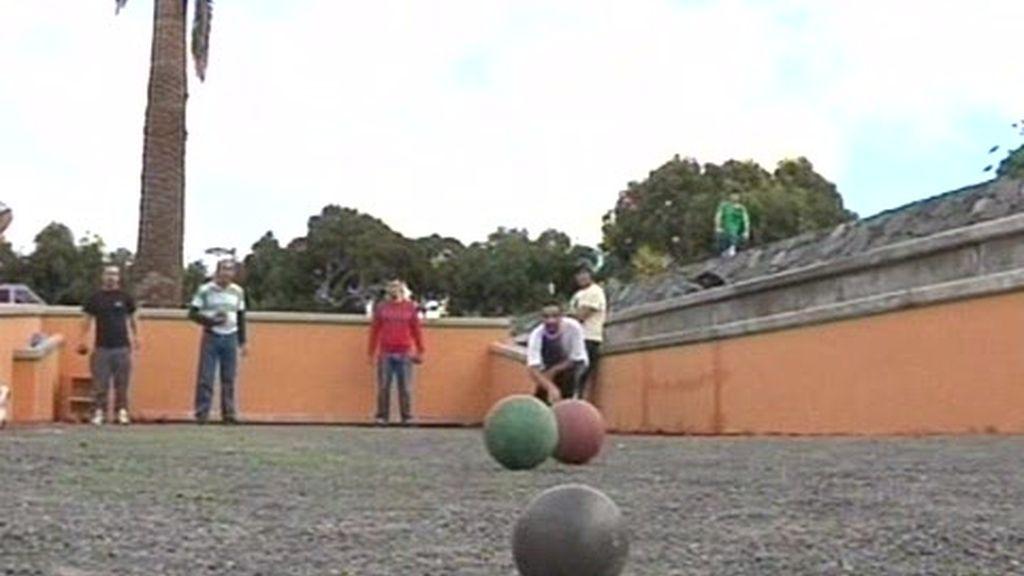Valle de Jinámar. La Bola Canaria: un deporte muy extendido.