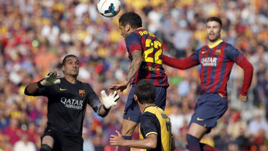 Ninguno de los dos equipos tuvo muchas ocasiones de gol