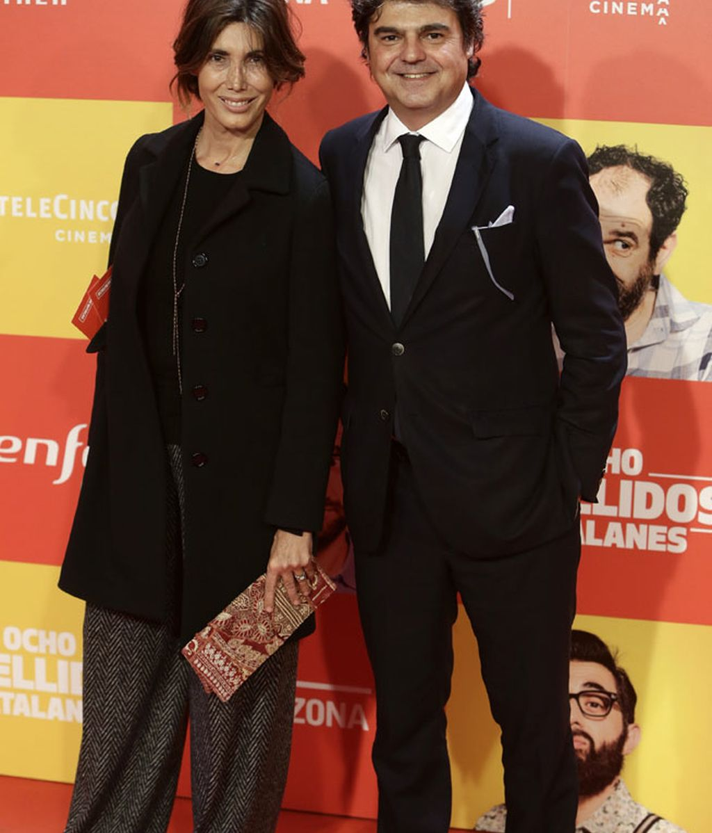 Jorge Moragas (PP) y su mujer
