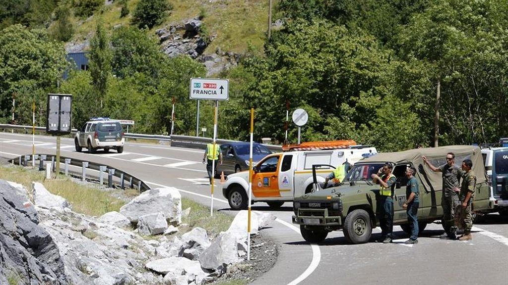 Un militar muerto y varios heridos en Huesca