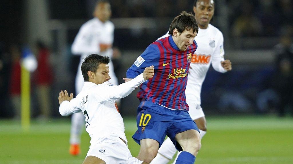 Leo Messi abrió el marcador