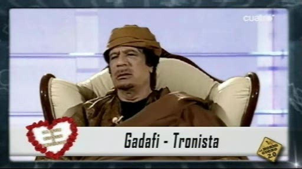 Gadafi en Mujeres y Hombres y Viceversa