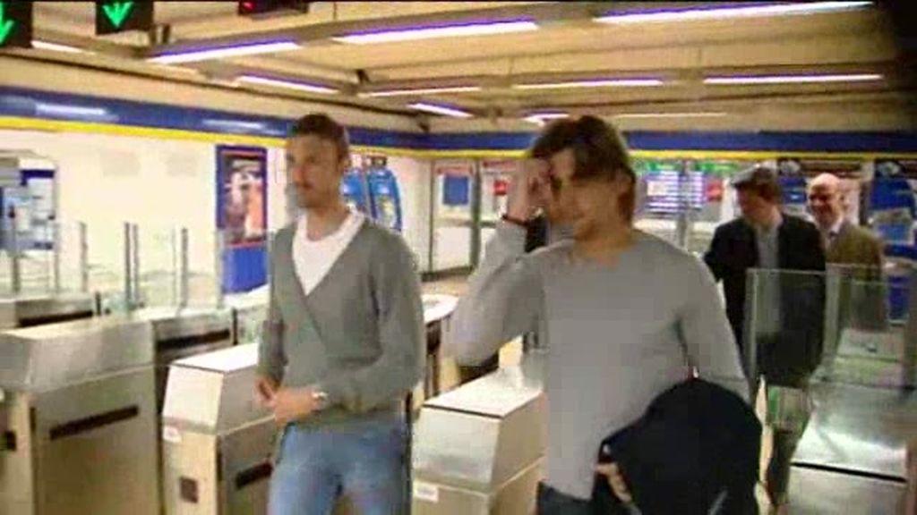 Ferrer y Ferrero van en metro