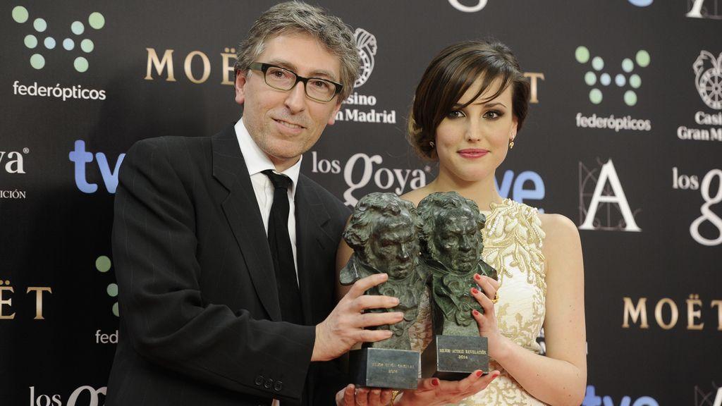 David Trueba y Natalia de Molina