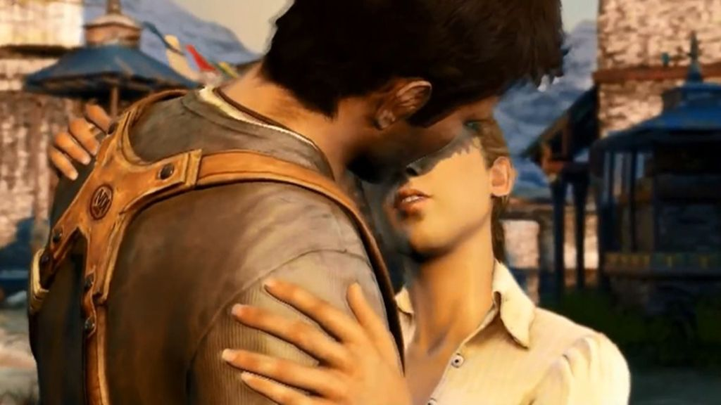 Nathan Drake y Elena Fisher (Uncharted 2)