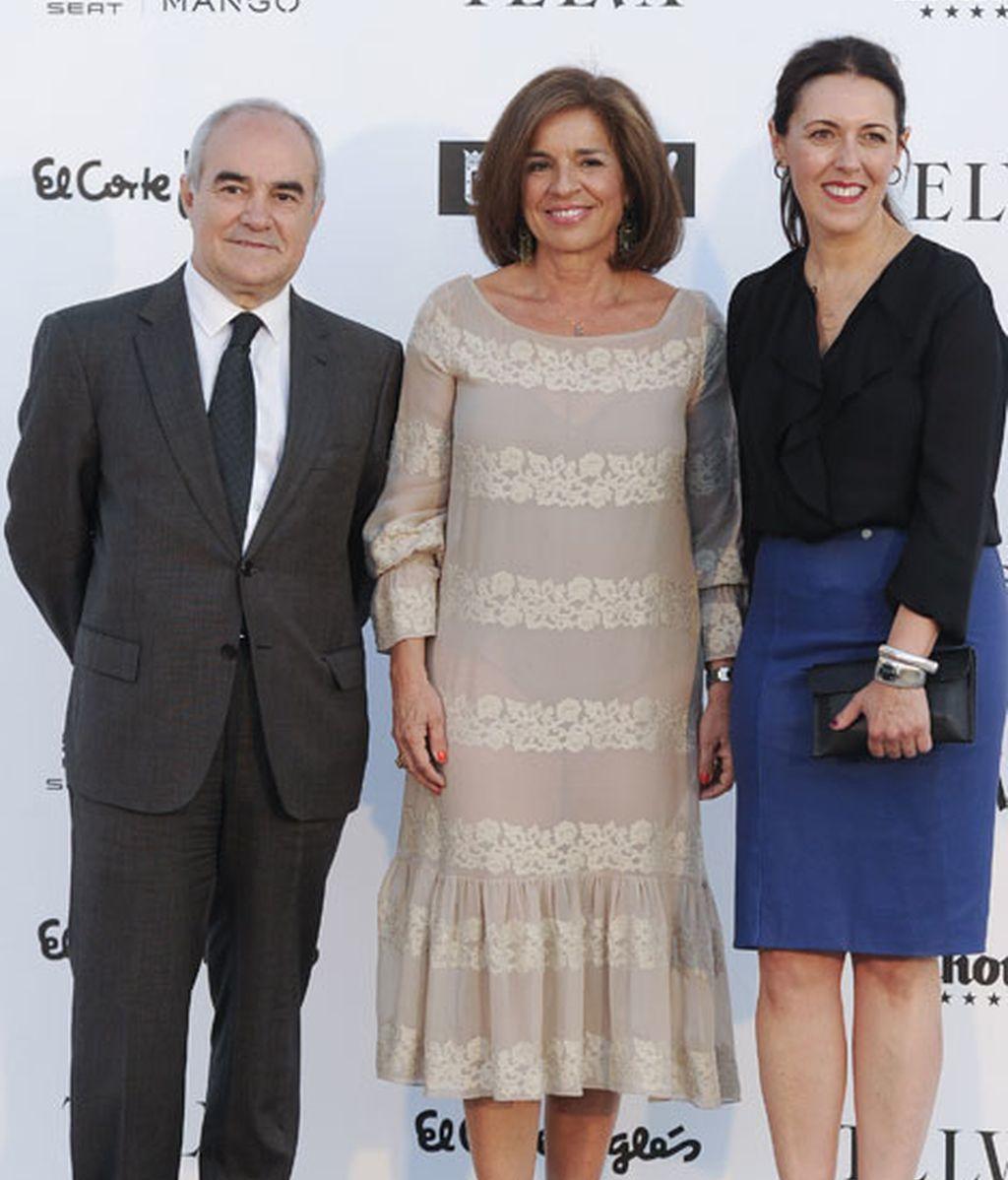 La alcaldesa Ana Botella junto a la periodista Olga Ruíz