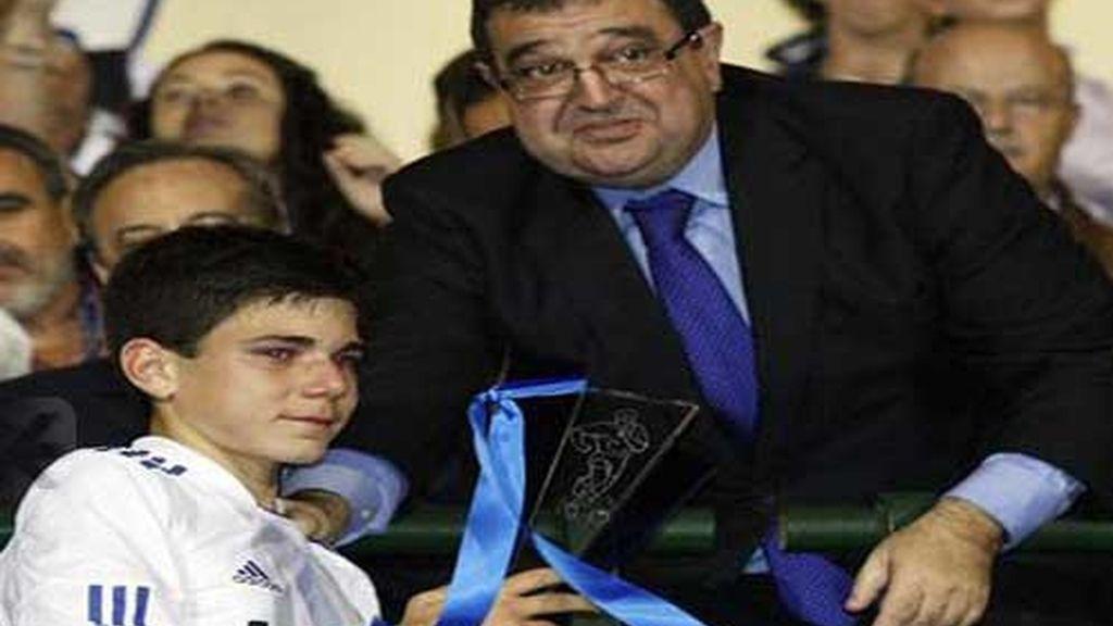 Cedenilla, jugador del Madrid