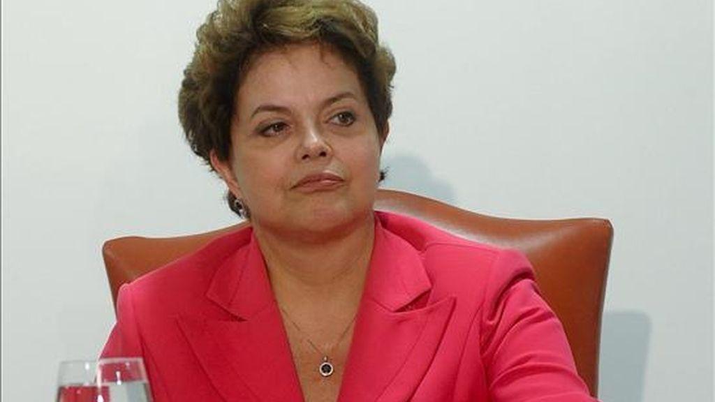 """Según fuentes del Gobierno citadas por la Agencia Brasil, """"la decisión fue tomada porque había dificultades"""" para incluir el Foro Económico Mundial """"en la agenda de compromisos de la presidenta"""". EFE/Archivo"""