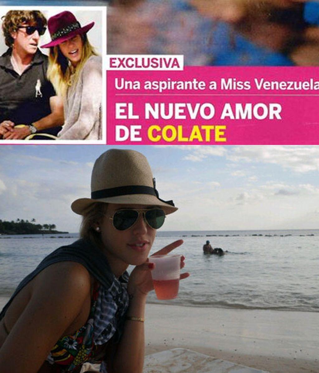 Colate, enamorado de una aspirante a Miss Venezuela, según 'Lecturas'