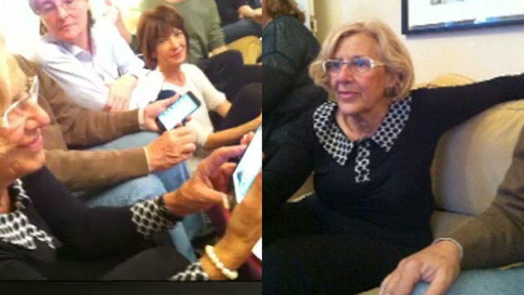 Manuela Carmela, candidata de Ahora Madrid al Ayuntamiento de Madrid