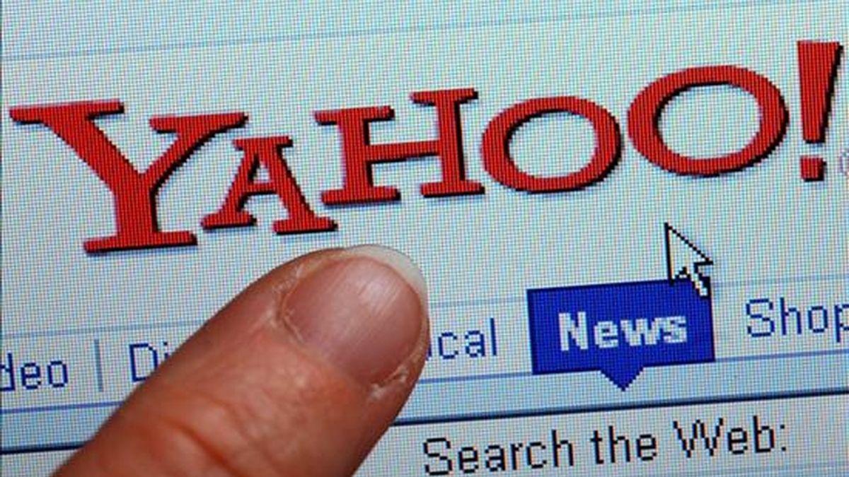 La nueva página de inicio de Yahoo posibilitará la venta de publicidad entre el abanico de aplicaciones que ofrecerá a los internautas. EFE/Archivo
