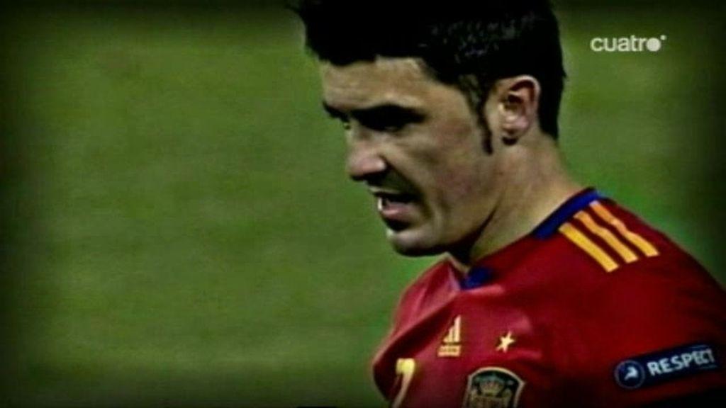 Villa quiere coronarse en el Bernabéu como el nuevo 7 de España