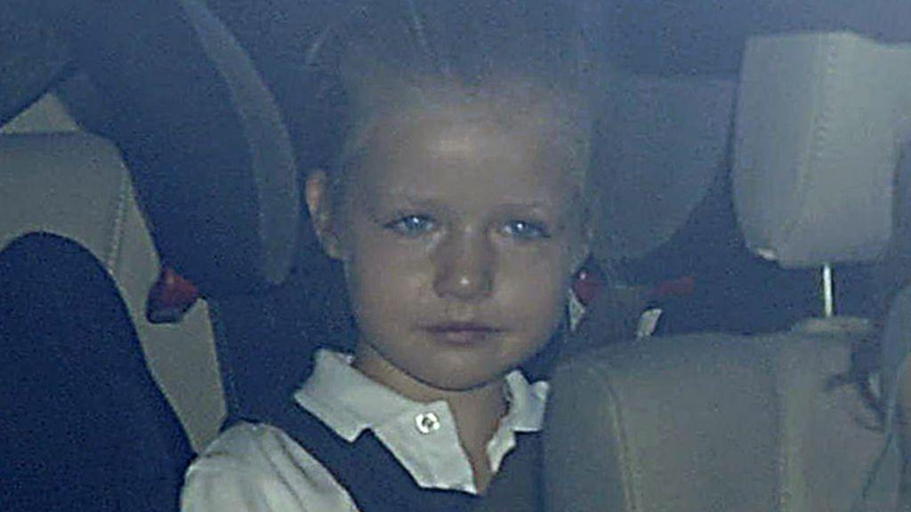 Vuelta al cole de las infantas Leonor y Sofía, con Letizia al volante