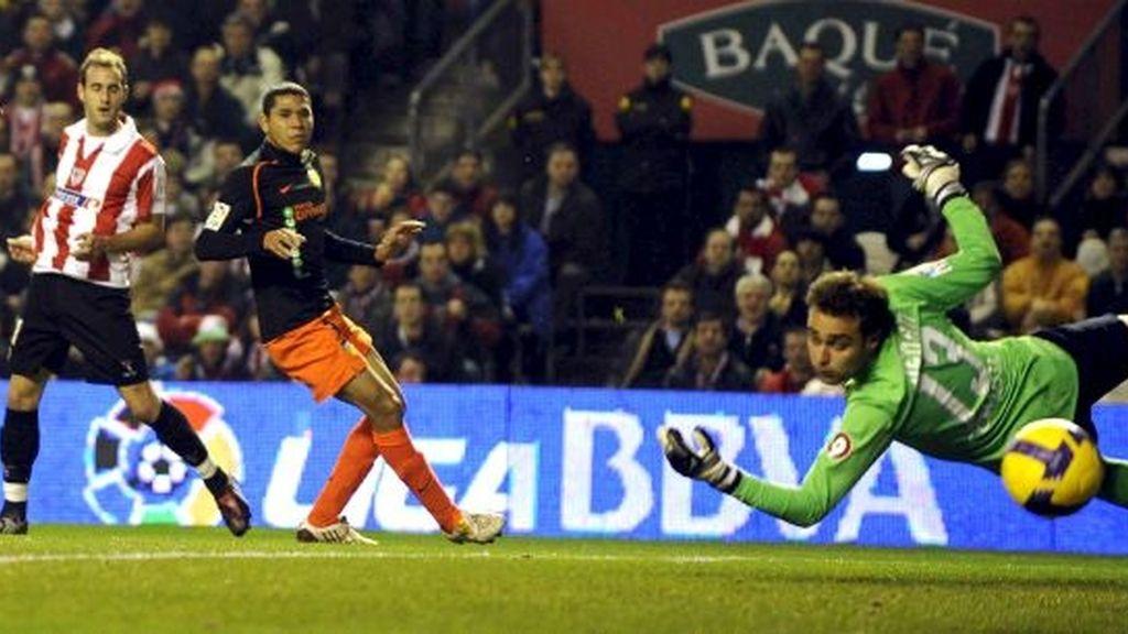 3-2. Llorente, de penalti, decide un partido espléndido