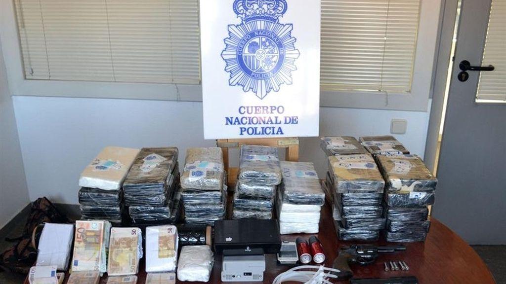 Cuatro narcos huyen tras robar a tiros cuatro kilos de coca a otros traficantes