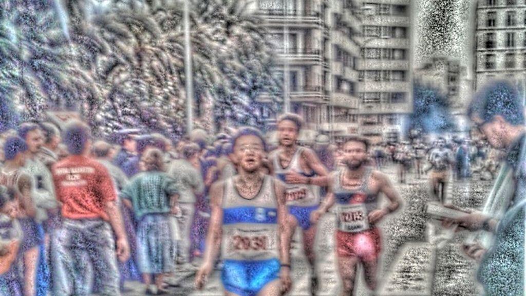 Fede Atienza, maratón