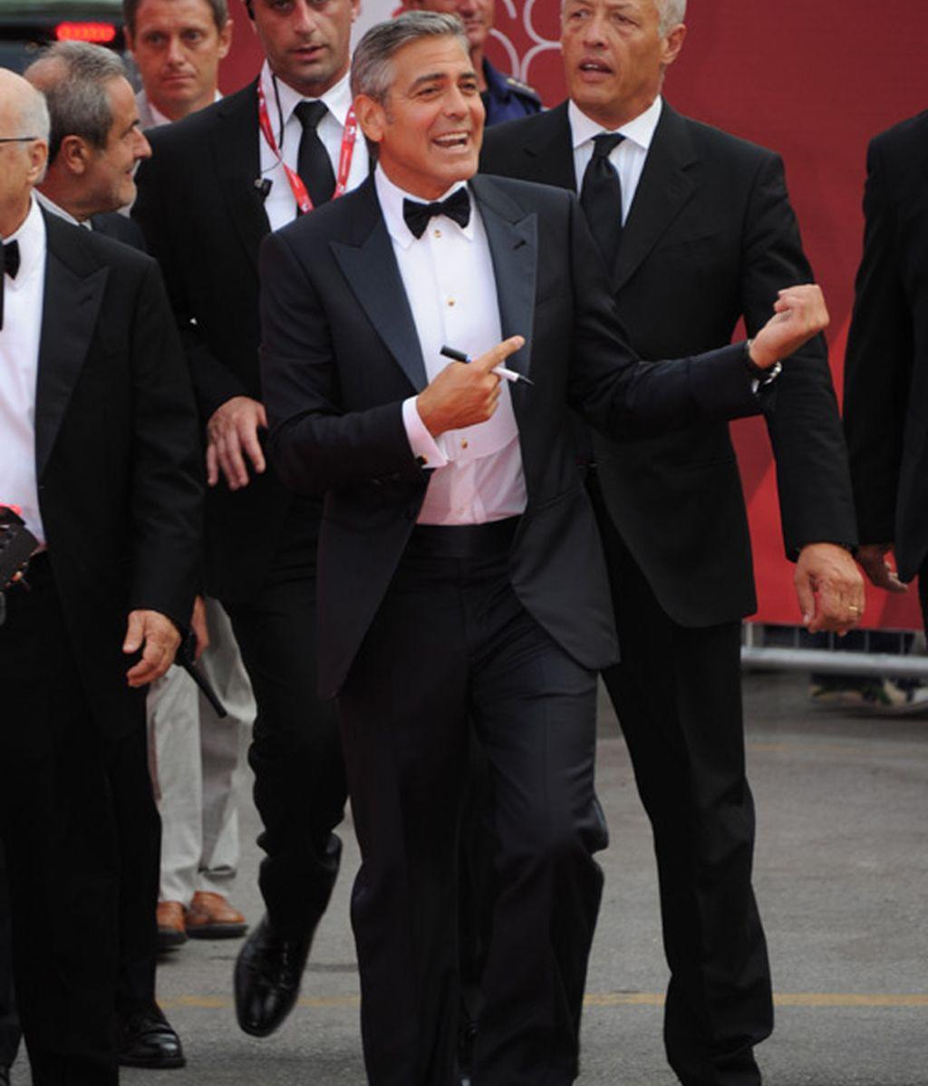 George Clooney, galán y lobo de mar en Venecia