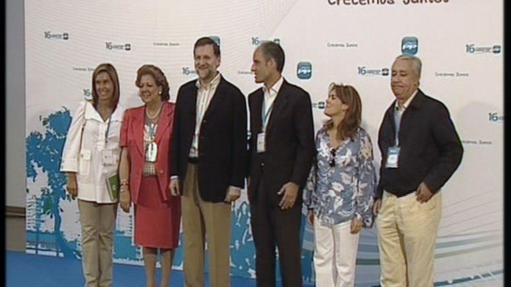 Rajoy en compañía
