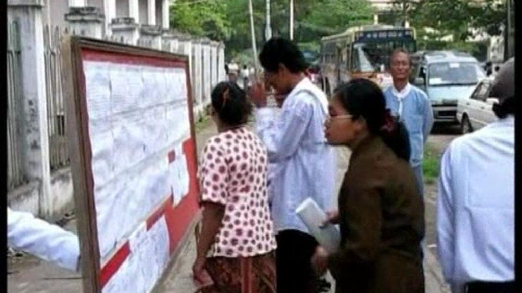 Primeras elecciones en Birmania en 20 años