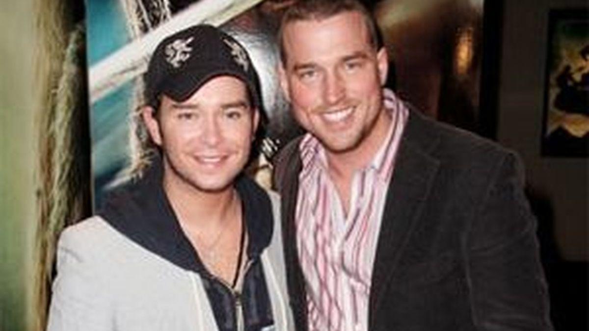 Andy y Stephen en una imagen de archivo.